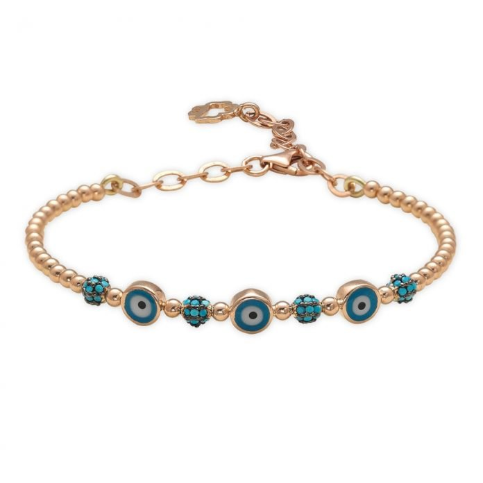 What does the evil eye jewelry symbolize?